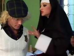 Free porn femdom nun naked fast
